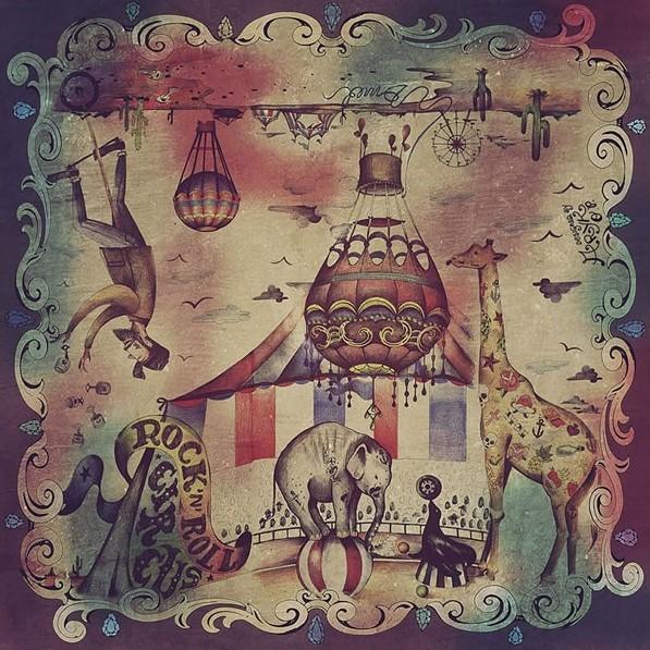 DMD Circus Scarf Bandana
