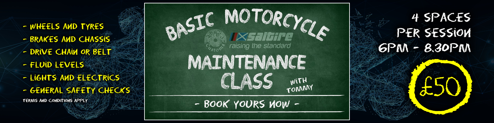 Basic Motorcycle Maintenance Class