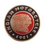 Indian Motorcycle Buckle Circle