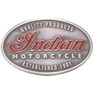 Indian Motorcycle Buckle Emblem