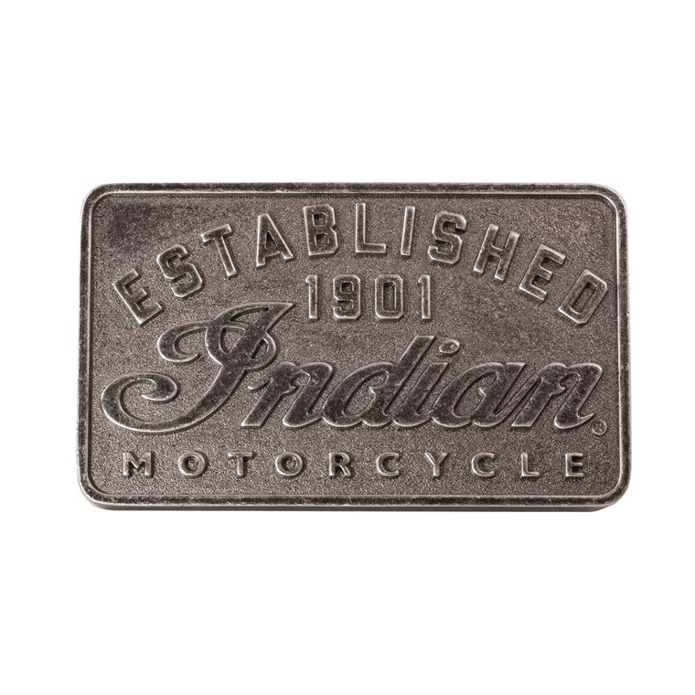 Indian Motorcycle Buckle Established