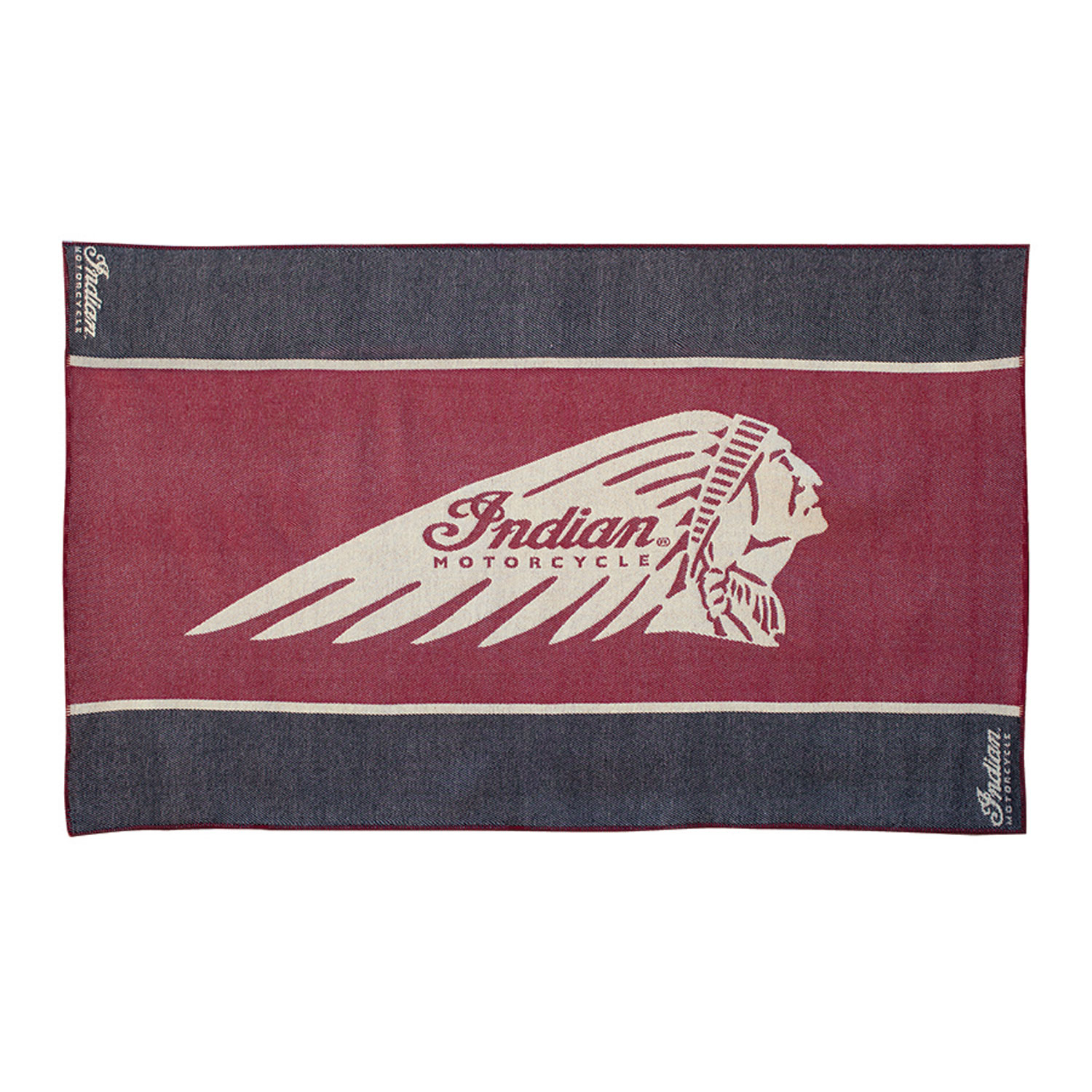 Indian Motorcycle Wool Throw
