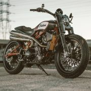 Indian Motorcycle honours Flat Track Wrecking Crew at EICMA with Scout FTR1200 Custom unveil