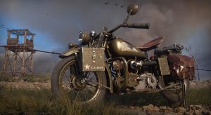 Indian Scout features in the new Call Of Duty WWII game
