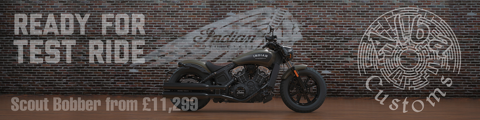 Indian Scout Bobber test ride