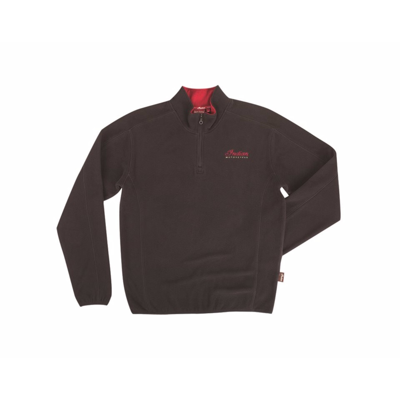 INDIAN_MEN'S_QUARTER_ZIP_FLEECE_BLACK_1