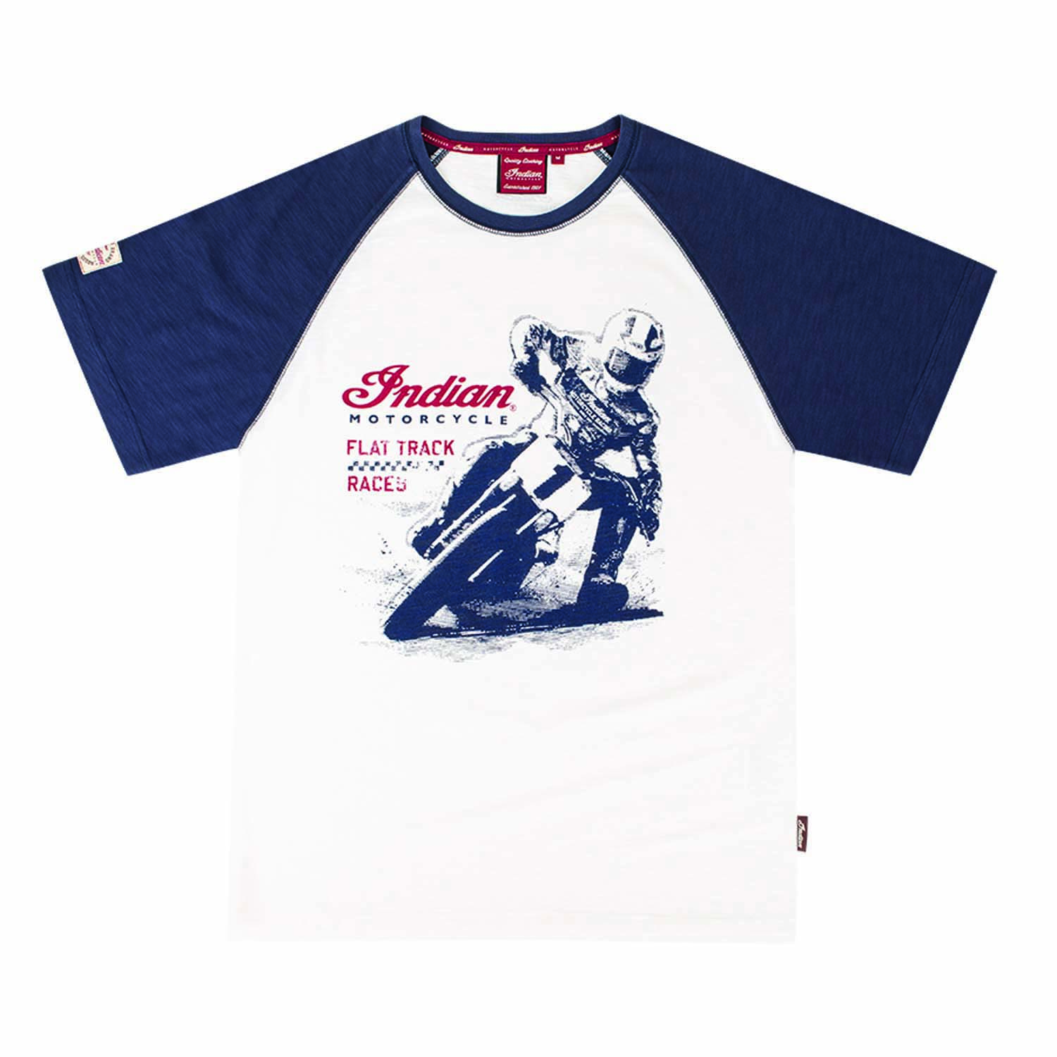 Indian Motorcycle Flat Track Racer Tee