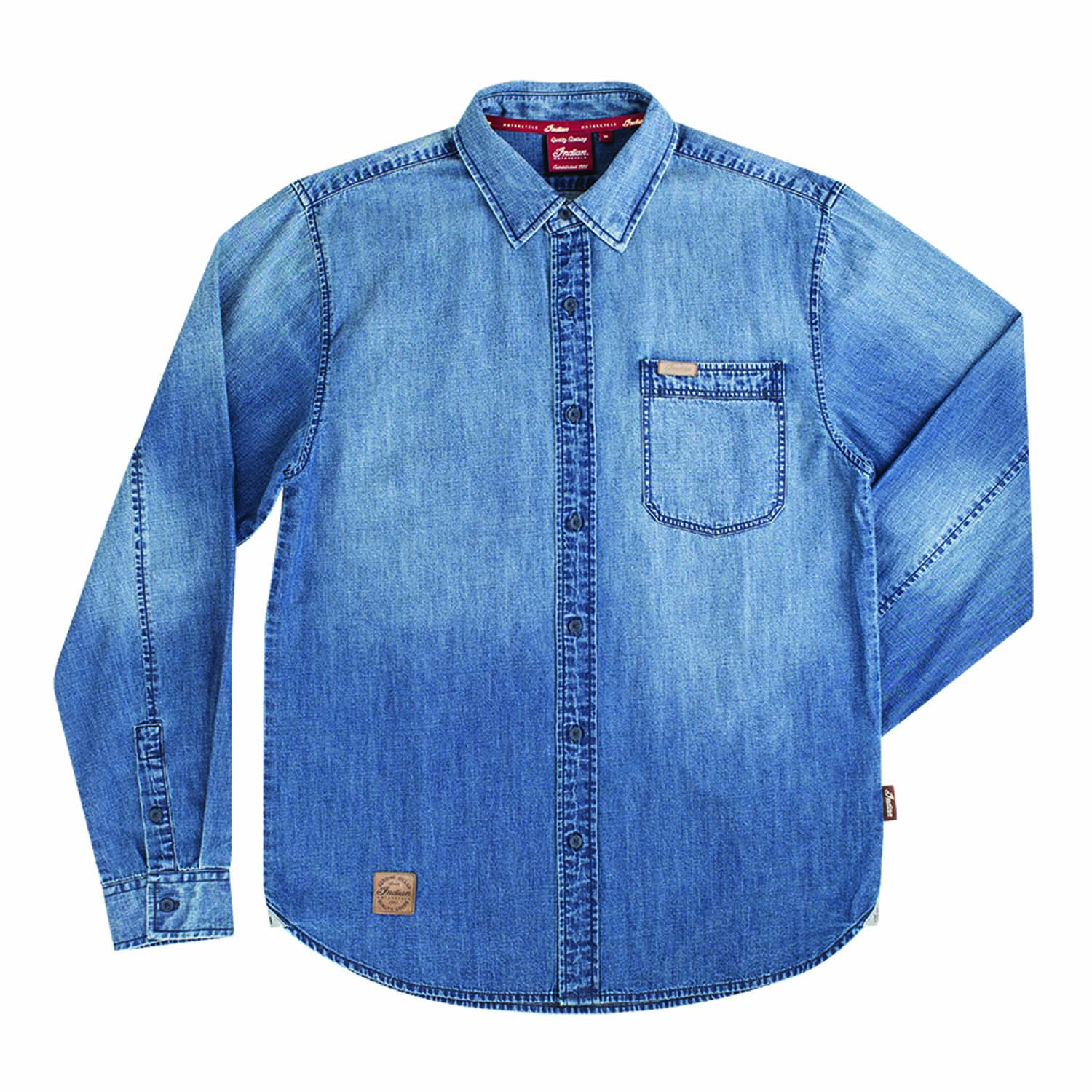 Indian Motorcycle Icon Denim Shirt