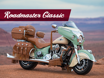2018 indian range tiles Roadmaster Classic