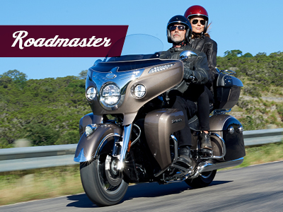 2018 indian range tiles Roadmaster