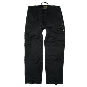Resurgence Gear Cruiser Cargo Trousers Black