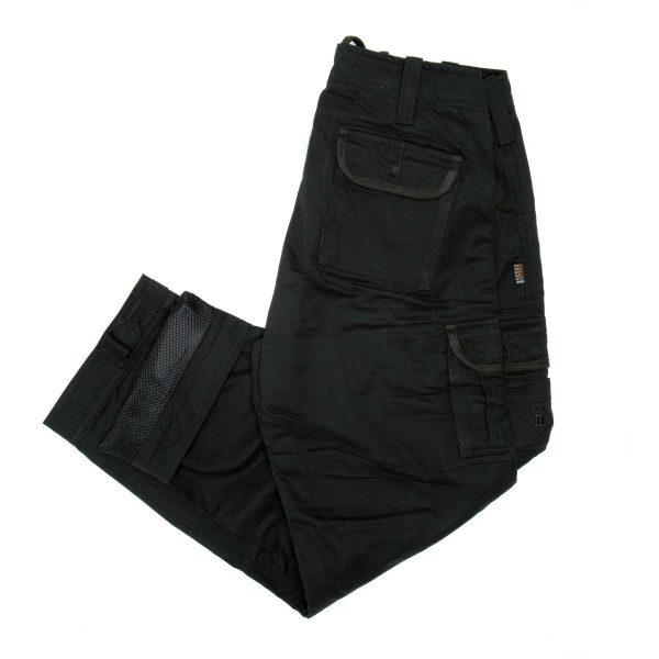 Resurgence Gear Cruiser Cargo Trousers Black
