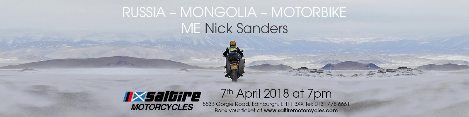 Nick Sanders 7 April 2018