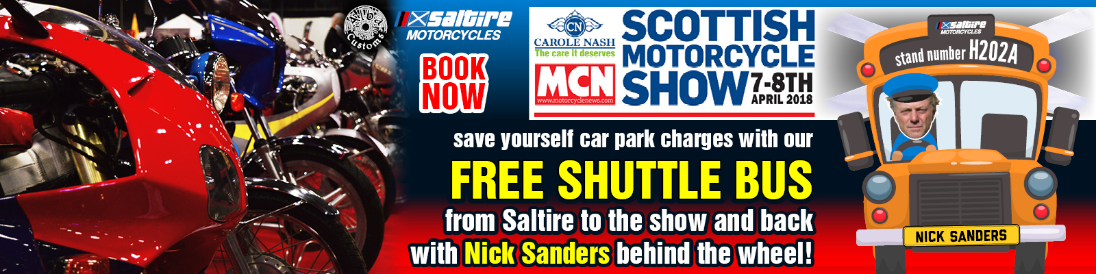 2018 Scottish Motorcycle Show 7-8 April