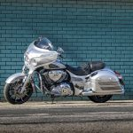 2018 Indian Chieftain Elite in a hand-painted Black Hills Silver colour