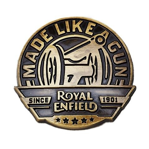 Royal Enfield Made like a Gun Pin Badge