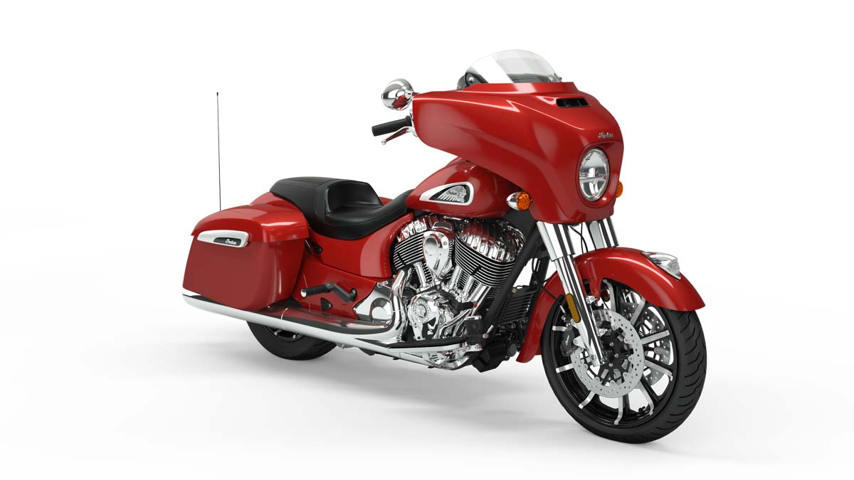 2019 Chieftain Limited Ruby Metallic