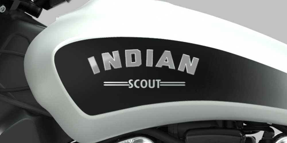 2019 Scout Bobber Iconic Tank Badge