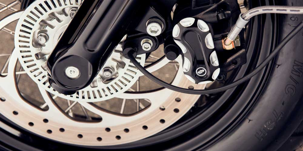 2019 Scout Bobber Serious Stopping Power