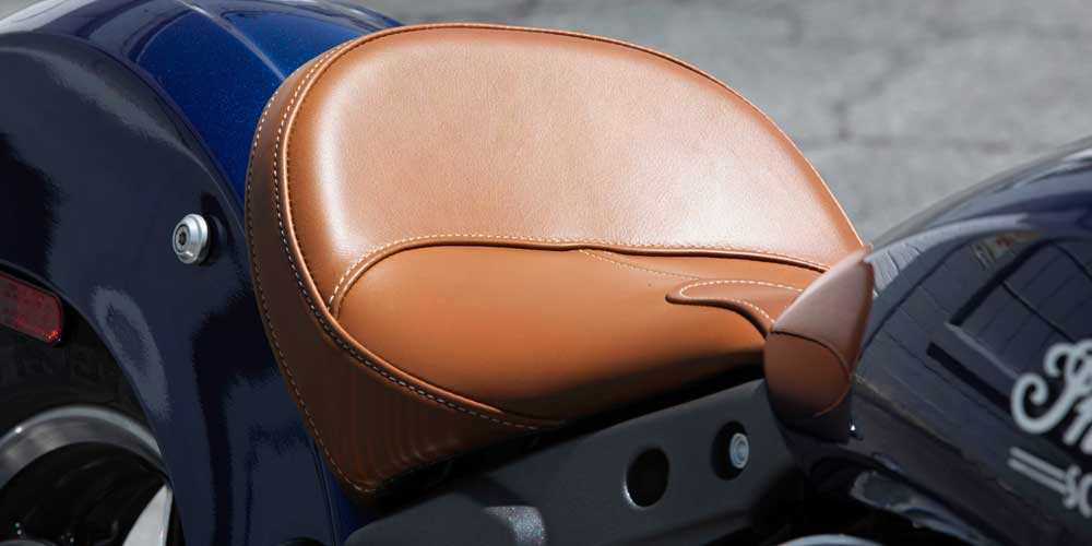 2019 Scout Genuine Leather Seat
