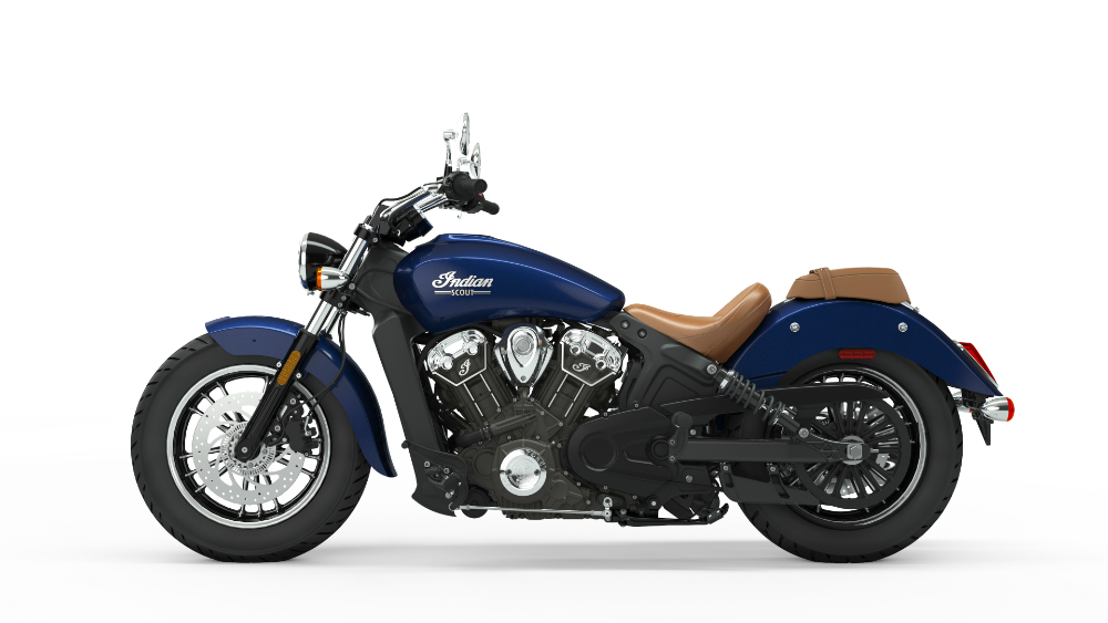 2019 Indian Scout Deep Water Metallic