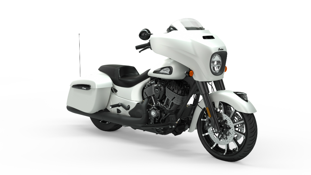 2019 Chieftain Dark Horse White Smoke