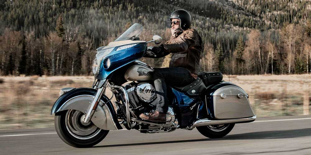 2019 Chieftain Classic All-New Ride Modes