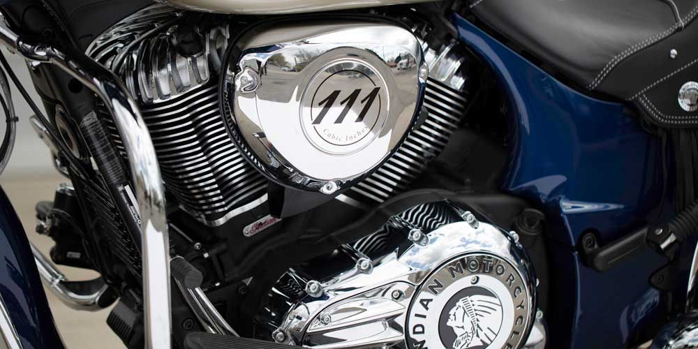 2019 Chieftain Classic Thunder Stroke 111 V-Twin Engine