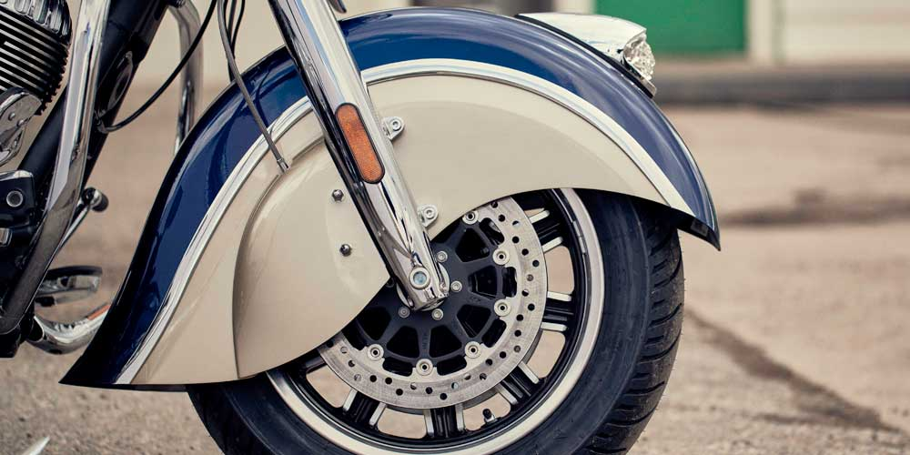 2019 Chieftain Classic Valanced Front Fender with 16inch Wheel