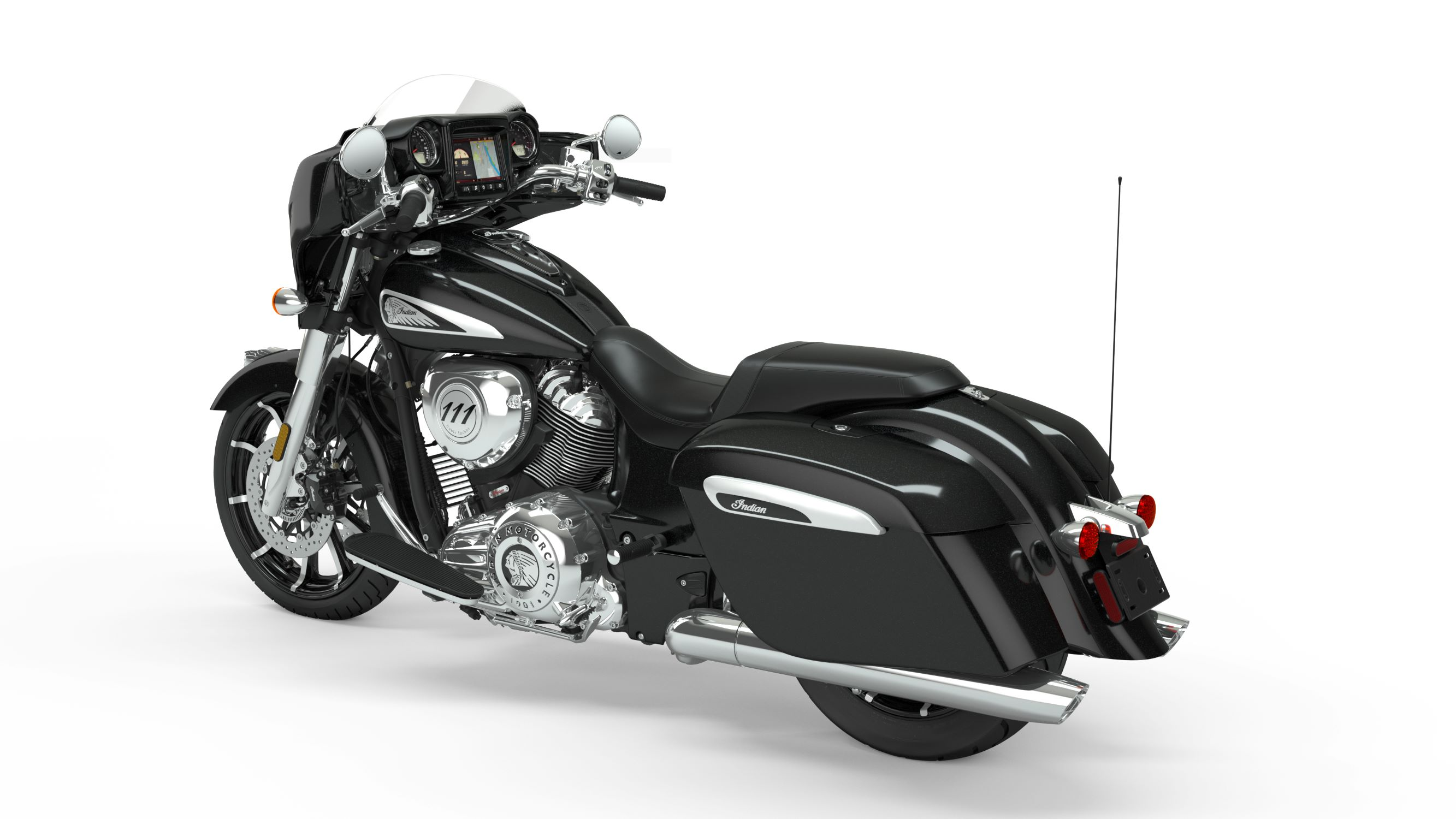 2019 Chieftain Limited Thunder Black Pearl