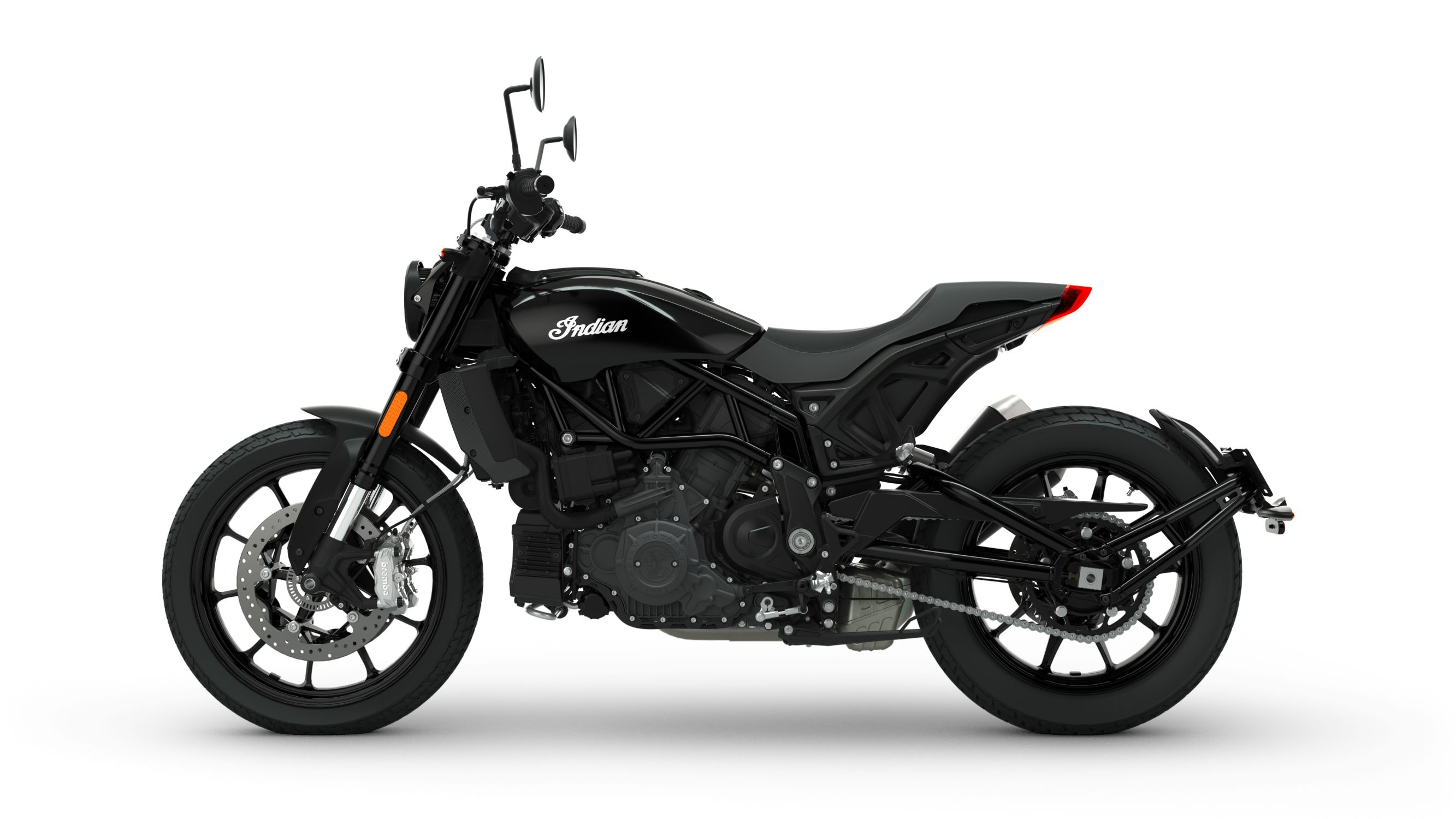2019 FTR 1200 Thunder Black Left