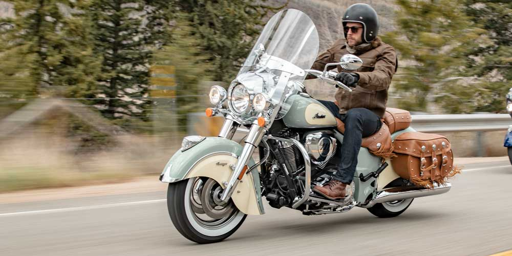 2019 Indian Chief Vintage Agile Handling And Control