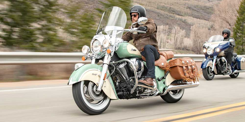 2019 Indian Chief Vintage All New Ride Modes