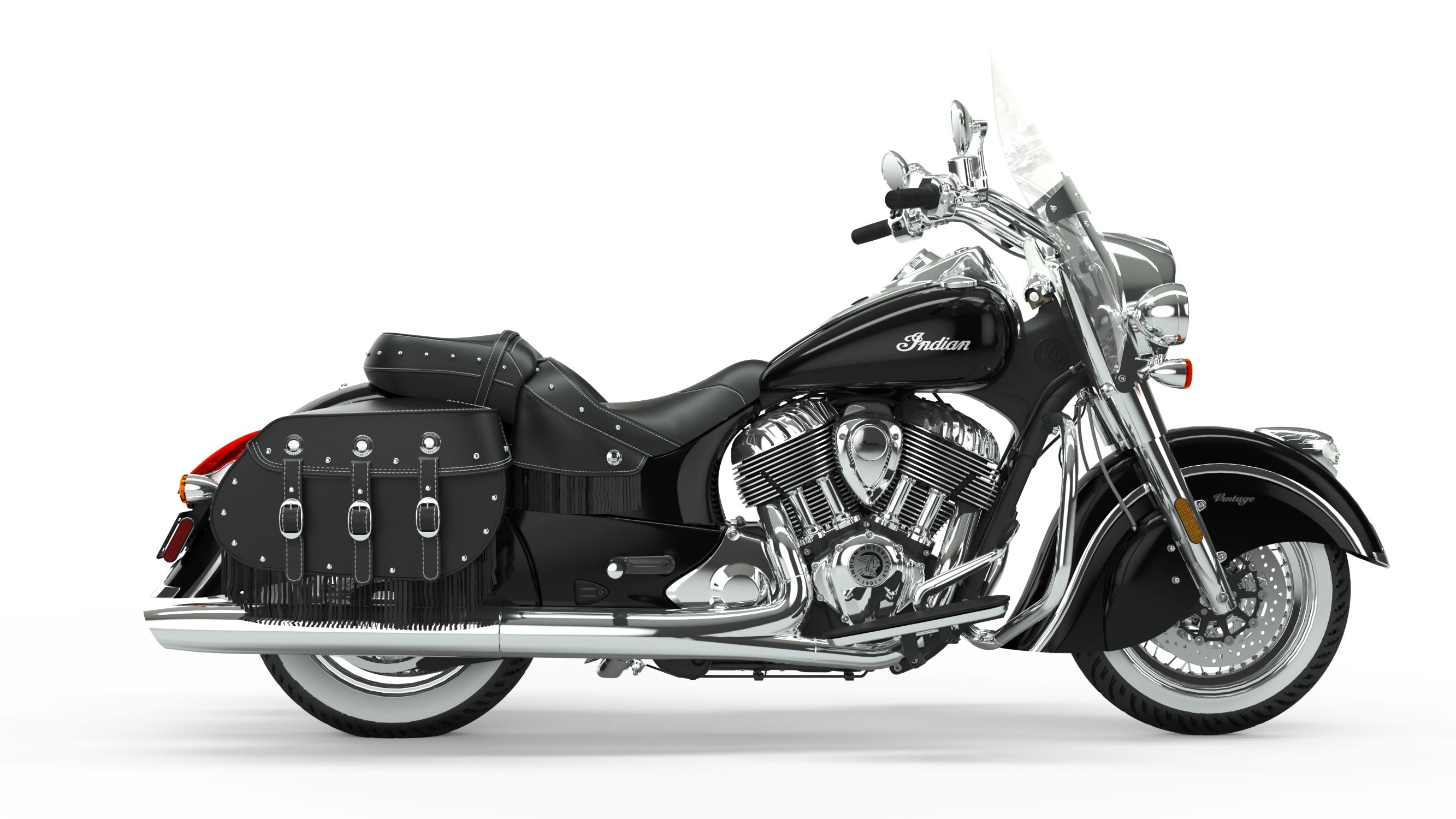 2019 Indian Chief Vintage Thunder Black Right