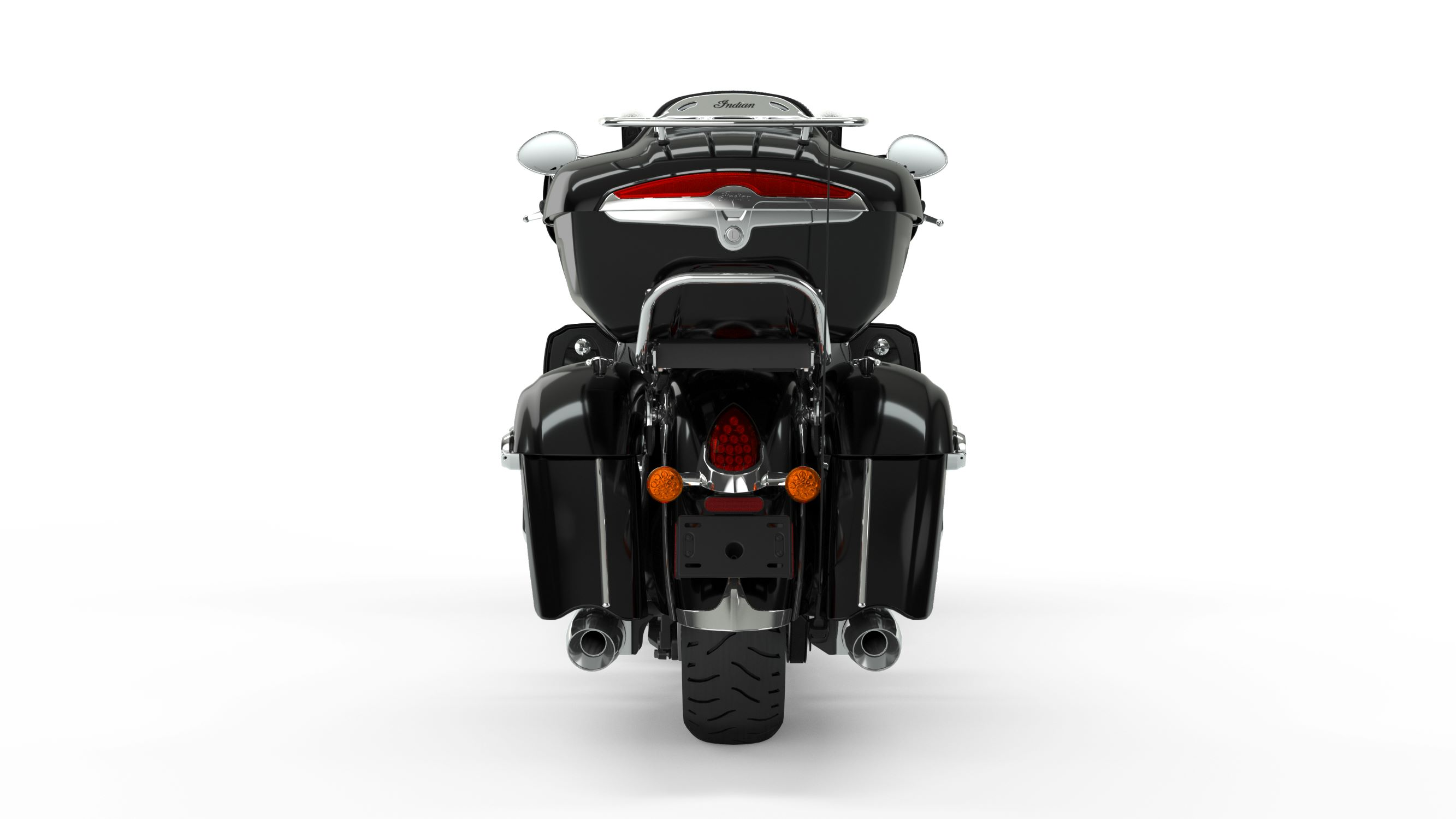 2019 Roadmaster Thunder Black Rear