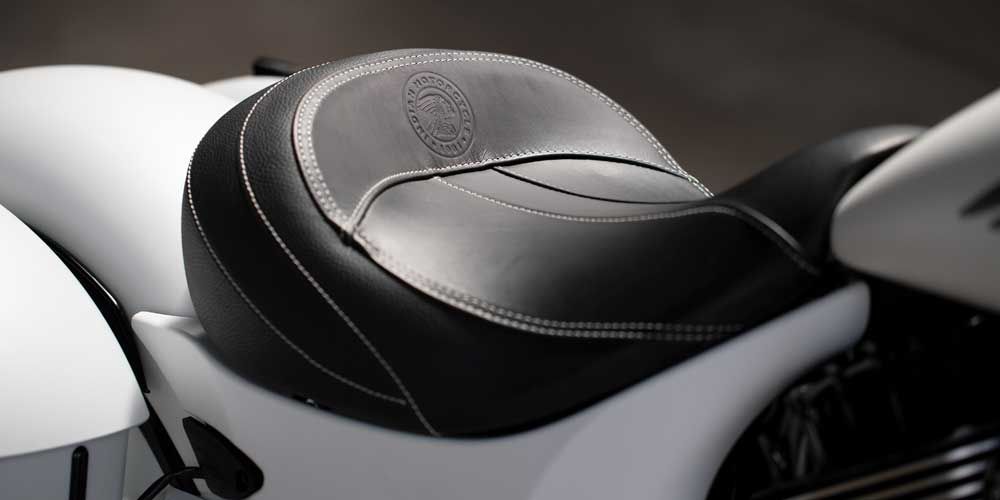 2019 Springfield Dark Horse Genuine Leather Solo Saddle