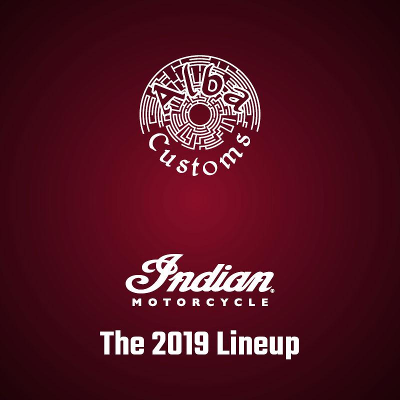 2019 Indian lineup