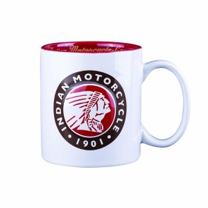 Indian Motorcycle Embossed Mug