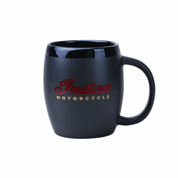 Indian Motorcycle Logo Barrel Mug