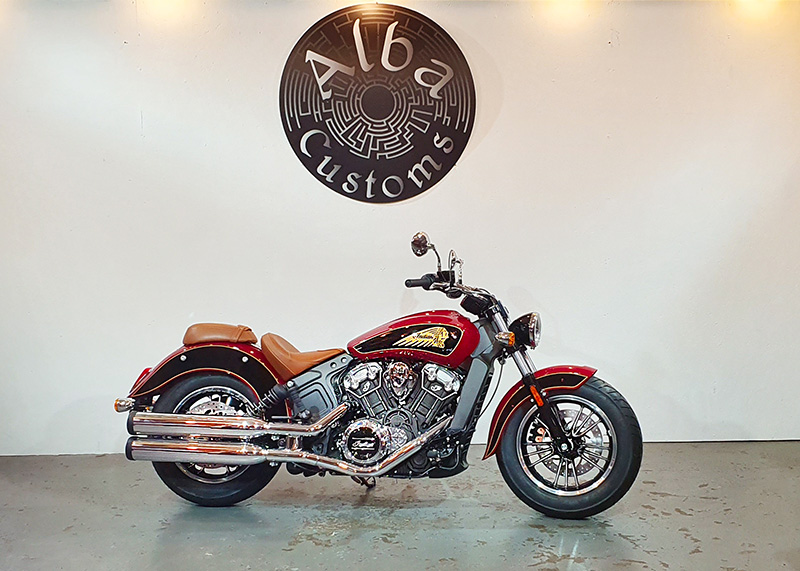 Indian Scout Two Tone