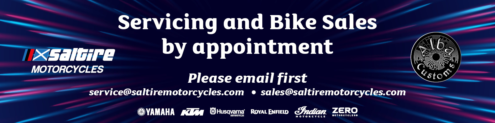 2020 Servicing and Bike Sales